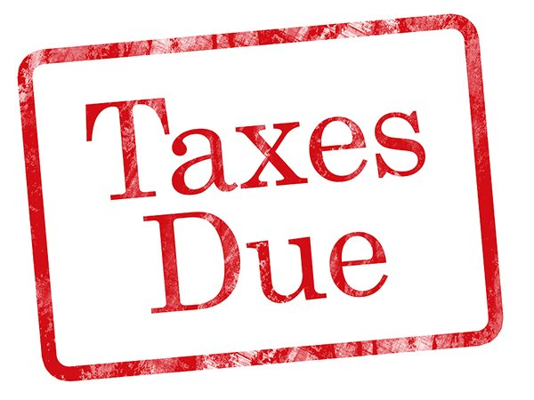 taxes-due-sign
