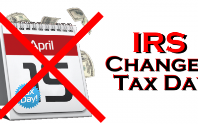 Tax Due Dates Change – April 15th Payments Are Now Deferred Until July 15th